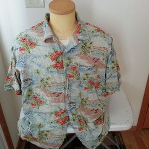 Polo Sport by Ralph Lauren Hawaiian shirt - mens L
